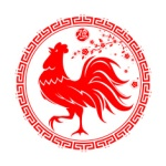red-rooster-as-symbol-for-2017-by-chinese-zodiac-vector-id603169272